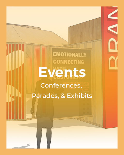 Events: Conference, Parade, & Exhibits