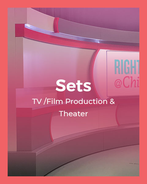 Sets:  TV / Film & Theater